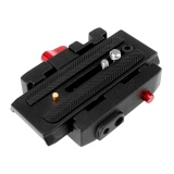 Review Aukey Camera P200 Quick Release Clamp Qr Plate For Manfrotto 501 500Ah 701Hdv 503Hdv Q5 7M1W Intl Aukey