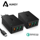 How To Buy Aukey Qualcomm Qc 3 Aipower Adaptive Wall Charger Usb Hub Charging 3 Usb Ports Intl
