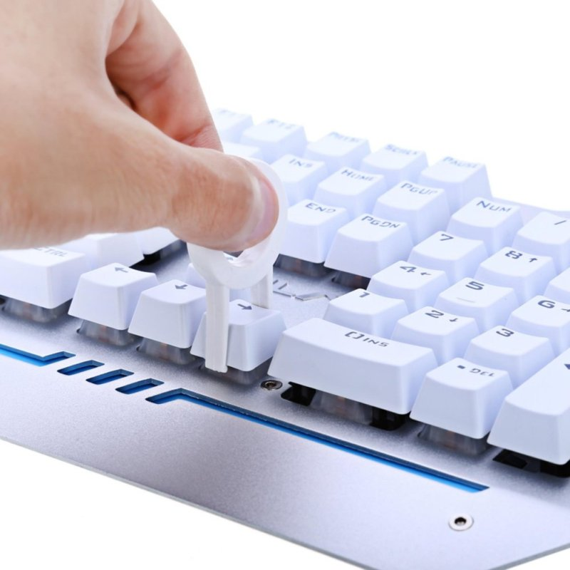 AULA 104-key Wired Mechanical Gaming Keyboard with Blue Axis - intl Singapore