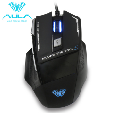 d2ec8188c12 AULA OFFICIAL Killing SoulⅡWired Gaming Mouse with 7 Customized Marco Keys  Breath Light