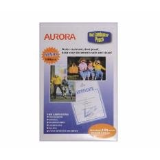 Buy Aurora A4 Hot Laminator Pouch 100 Pieces Aur100A4 Singapore