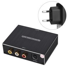 The Cheapest Av S Video To Hdmi Converter Audio Video Signal Converter 1080P Hd Display Eu Plug Intl Online