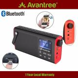 Avantree 3 In 1 Portable Wireless Fm Radio With Bluetooth Speaker And Sd Card Player Auto Scan Save Led Display Rechargeable Battery Sp850 In Stock