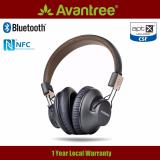 Avantree Audition Pro Wireless Bluetooth Aptx Low Latency Headphone With Microphone For Pc Gaming Tv Movies And 40Hr Battery Life Deal