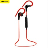 Buy Awei A890Bl Wireless Bluetooth Headphones Sports Running Earphone Handsfree Stereo Music Headset Fone De Ouvido With Microphone Red Oem