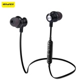 Awei A980Bl Bluetooth 4 Wireless Sports Earphones With Handsfree Volume Control Songs Track Function Intl Discount Code