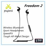 Discount Jaybird Freedom 2 In Ear Wireless Bluetooth Sport Headphones With Speedfit Tough All Metal Design