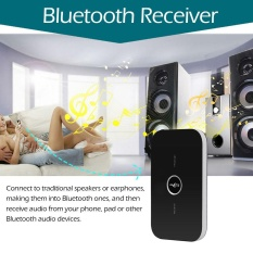 B6 2 In 1 Bluetooth Transmitter Receiver Wireless A2Dp Bluetooth Audio Adapter Portable Audio Player Aux 3 5Mm Black Intl China