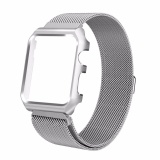 Best Price Bands For Apple Watch 42Mm Fashion Milanese Stainless Steel Chain Adjustable Replacement Watch Strap Band Wristband With Metal Frame For Apple Watch 42Mm Intl