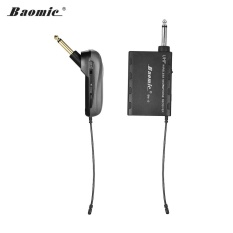 Low Price Baomic Bm 12A Professional Uhf Wireless Instrument Microphone System Receiver Transmitter 630 690Mhz 16 Channels For Electric Guitar Intl