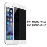 Price Baseus 3D 23Mm Soft Edge Anti Peeping Tempered Glass Screen Protector For Iphone 7 Plus White Intl China