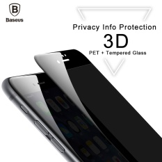 Sale Baseus 3D 23Mm Soft Edge Anti Peeping Tempered Glass Screen Protector For Iphone 8 Plus Black Intl Baseus Cheap
