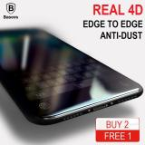 Baseus 4D Edge To Edge Tempered Glass Screen Protector For Iphone X Baseus Cheap On Singapore