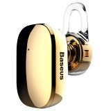The Cheapest Baseus Encok A02 Plating Single Mini Bluetooth 4 1 Stereo Earphone Gold Intl Online