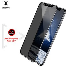 Price Baseus For Iphone X 10 Privacy Anti Peeping Anti Spy Screen Protector Tempered Glass 3D Anti Glare Film For Iphonex Ix Toughened Glass Black Intl Online China