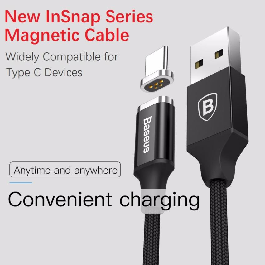 Baseus InSnap Series 2 Magnetic USB TYPE C Charging Cable for Android/USB C/