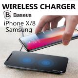 Purchase Baseus Iphone X 8 Samsung Dual Coil Wireless Charger Fast Charge Qi Usb Charge Pad