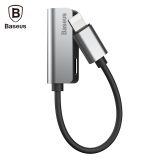Buy Baseus L32 8 Pin Audio Adapter Headphone Charging Sync Data For Iphone 8 Intl China