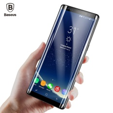 Discount Baseus Premium 3D Arc Screen Protector For Samsung Galaxy Note 8 Full Protective Glass Film Black Intl