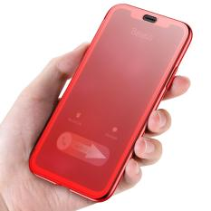 Baseus Touchable Case Tpu Protective Flip Cover For Iphone X Best Buy