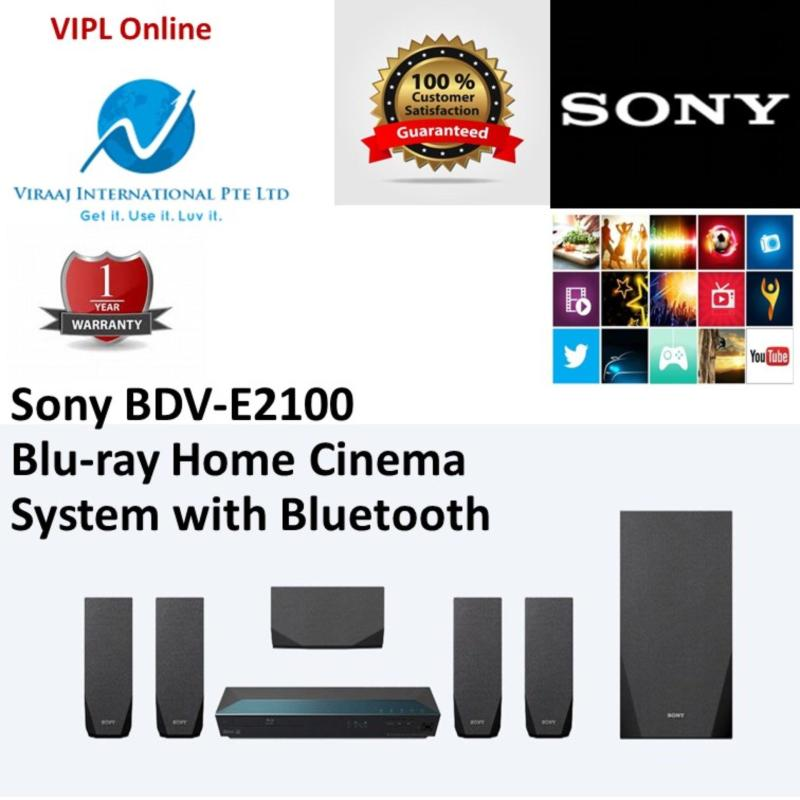 (Sony SG Warranty) Sony BDV-E2100 5.1 Channel Blu-ray Home Cinema System with Bluetooth Singapore