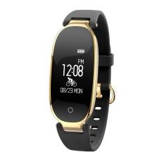 Compare Price Beau Lemfo S3 Bluetooth 4 Smart Watch Heart Rate Monitor Waterproof Wristwatch Intl Oem On China