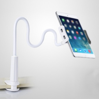Beautymaker Gooseneck 360 Lazy Bed Desk Stand Holder for iPad 2 3 4 Air Mini Tablet PC White