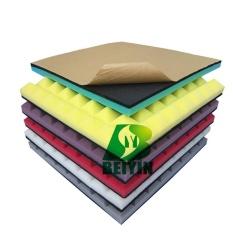 Price Beiyin Pyramid Convoluted Acoustic Foam Studio Ktv Studio Piano Drum Room Soundproofing Board Panel Acoustic Sponge Self Adhesive Wall 50 50 5Cm 8Pcs Intl On China
