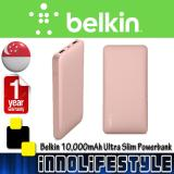 Price Belkin 10000Mah Durable Ultra Slim Powerbank Singapore