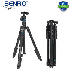 Cheaper Benro It15 Travel Portable Digital Slr Camera Tripod Head Tripod