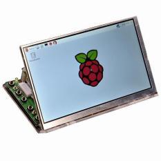 BEST PRICE Raspberry Pi 7 Inch LCD Screen HD 1024 * 600 Display Module Kit With Housing Bracket - intl