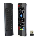 Where To Buy Black 2 4G Wireless Mx3 Air Mouse For Smart Android Tv Box Pc Htpc Projector Intl