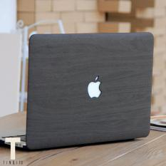 Black Dark Wood Wood Design Macbook Hard Cover Case for 15 Pro 2016 with Touchbar (A1707)