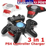 Sale Black Ps4 Controller Charger Station Stand Dual Shock 3 Controllers Usb Charging Dock Intl Not Specified Original