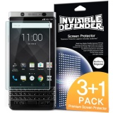 Price Comparisons For Blackberry Keyone Screen Protector Ringke Invisible Defender Max Clarity 3 1 Pack Case Compatible High Definition Hd Protective Clear Film For Blackberry Keyone Intl