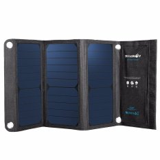 Sale Blitzwolf 20W 3A Foldable Portable Solar Sun Charger Usb Dual Port W Power 3S Intl Online On China