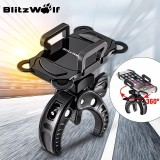 Where To Shop For Blitzwolf Motorcycle Mtb Bike Bicycle Handlebar Mount Holder For Cell Phone Gps Black Intl