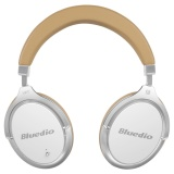 Low Cost Bluedio F2 Faith Active Noise Cancelling Over Ear Business Wireless Bluetooth Headphones With Mic White Intl