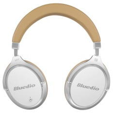 For Sale Bluedio F2 Faith Active Noise Cancelling Over Ear Business Wireless Bluetooth Headphones With Mic White Intl