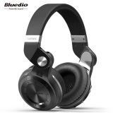 Top 10 Bluedio T2 Turbine 2 Bluetooth 4 1 Headphone Sd Card Slot With Mic Black Intl