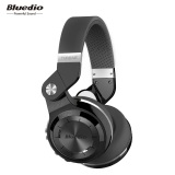 Bluedio T2S Bluetooth Headphones With Mic Black Intl In Stock