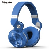 Get Cheap Bluedio T2S Bluetooth Headphones With Mic Blue Intl