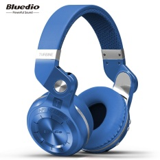 Price Bluedio T2S Bluetooth Headphones With Mic Blue Intl China