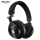 Best Price Bluedio T3 Turbine 3Rd Extra Bass Wireless Bluetooth 4 1 Stereo Headphones Black Intl