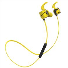 Wholesale Bluedio Te Bluetooth 4 1 Wireless Sports Headphones Sweatproof Mic Yellow Intl