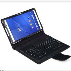 Discount Bluesky Detachable Ultra Thin Bluetooth Keyboard Stand Case Cover For Sony Xperia Z3 Compact Tablet Black China
