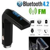Buy Cheap Bluetooth 4 2 Fm Transmitter Wireless Mp3 Tf Radio Adapter Usb Charger Car Kit Intl
