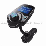 Bluetooth Car Kit Mp3 Player Hands Free Call Wireless Fm Transmitter Car Charger Support Micro Tf Card For Iphone For Samsung Intl China