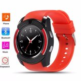 Deals For Bluetooth Smart Watch V8 Clock With Sim Tf Card Sync Notifier Smartwatch For Ios Android Round Watch Pk Dz09 Gt08 Sport Watch Intl