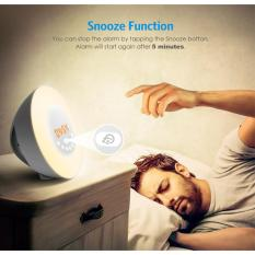 Price Bluetooth Sound Box Multifunction Wake Up Light Touch Led Lamp To Simulate Sunrise Colorful Wake Alarm Clock R R Original
